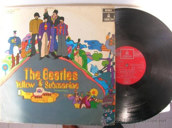 beatles-yellow-submarine-vinilo-español-epoca-label-rojo