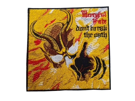 Parche Mercyful Fate don't break the oath