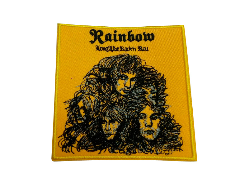 Parche Rainbow Long Live Rock and Roll