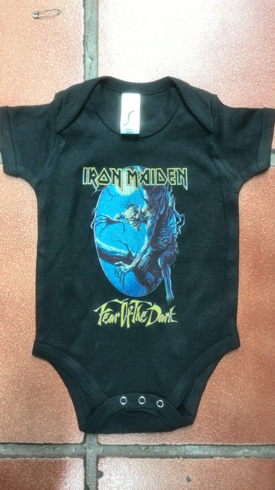 Bodies de Bebe Iron Maiden