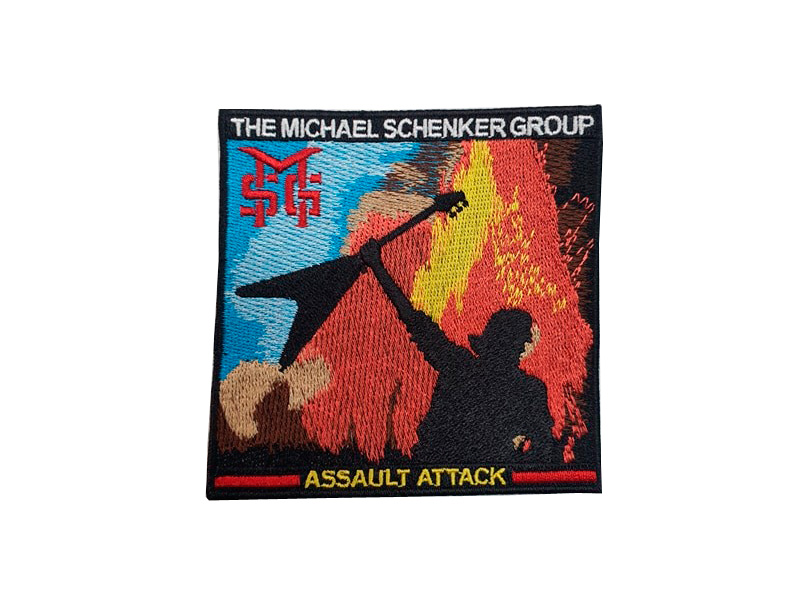 Parche The Michael Schenker Group Assault Attack